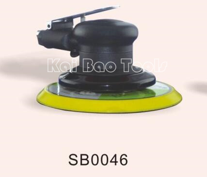 6inch Pneumatic Air Random Orbital Sander No Vacuum Orbit 5mm Air Sanding Machine Polishing Tool SB0046