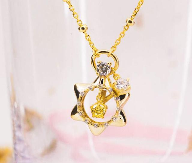 Sailor moon 25th anniversary music box pendant necklace 925 silver sailor moon 25th anniversary music box pendant necklace 925 silver aloadofball Gallery