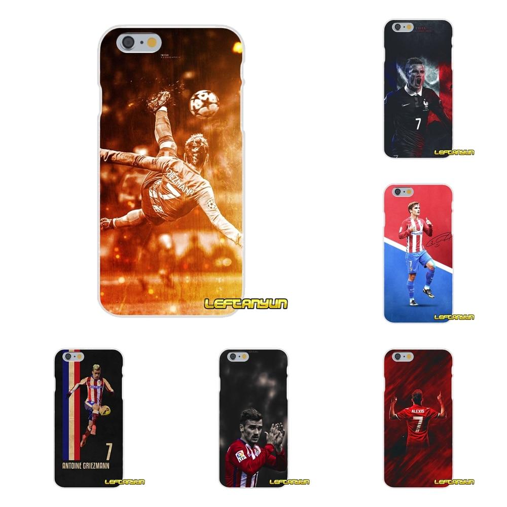 Antoine Griezmann Soccer Star Slim Silicone phone Case For Sony Xperia Z Z1 Z2 Z3 Z4 Z5 compact M2 M4 M5 E3 T3 XA Aqua