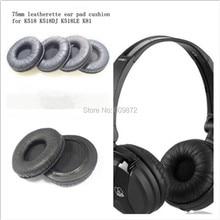 купить 10 Pack of Replacement Leather Ear Pads Ear Cushions 75mm diameter fit on AKG K518 K518DJ K518LE K81 онлайн