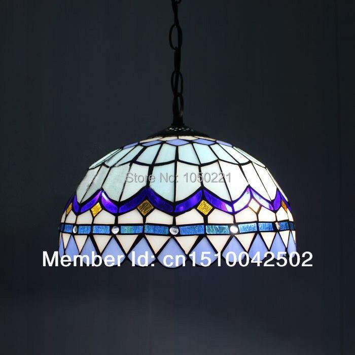 Online Kaufen Grohandel blue tiffany lamp aus China blue