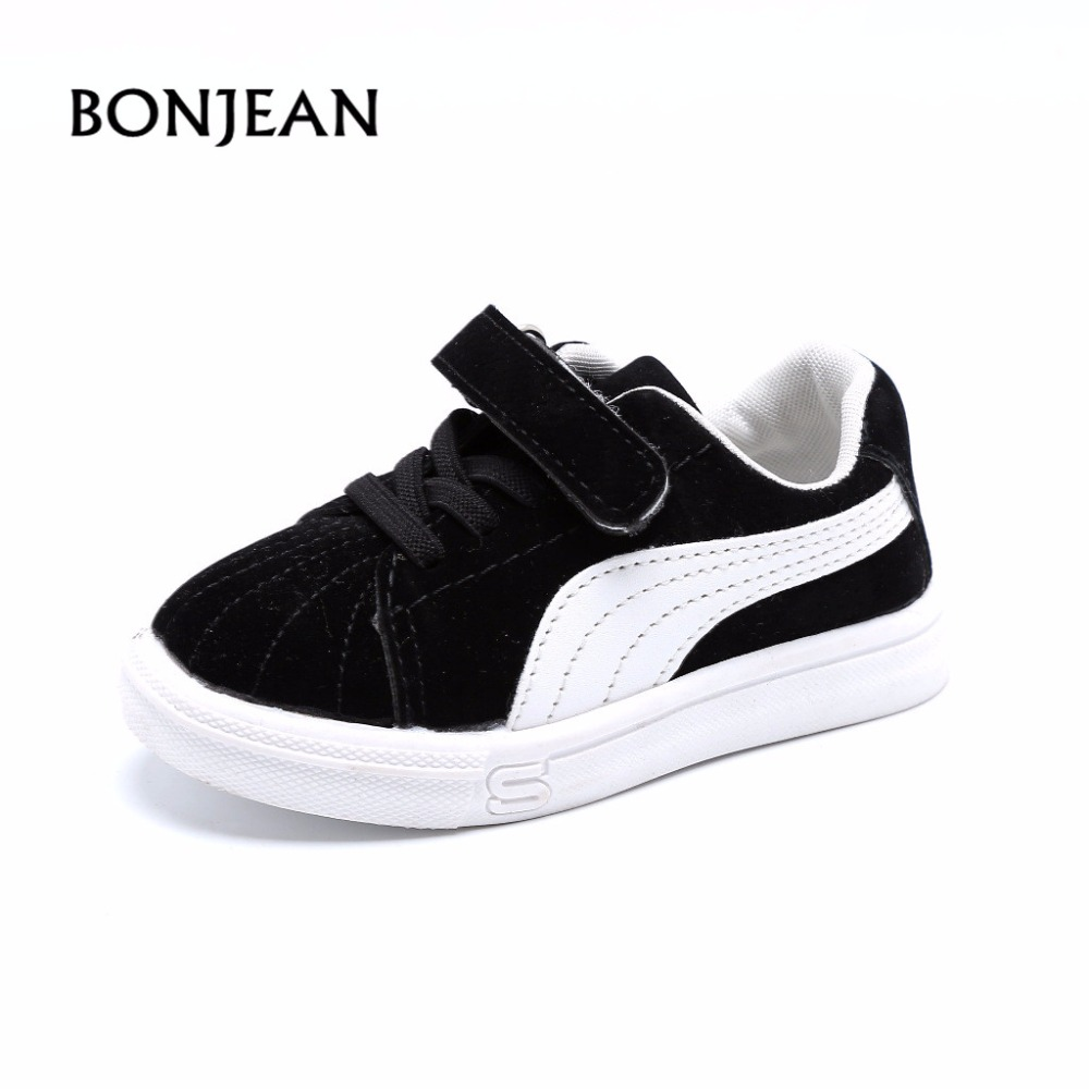 2018 kids Shoes Boys Cotton Shoes Girls Sport Designer Baby Sneakers Children flat Casual Shoes Kids Non-slip Fashion Sneakers