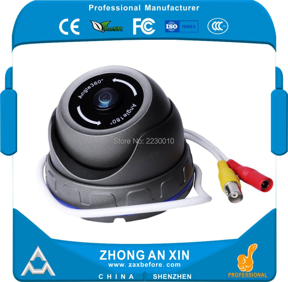 960P Fisheye Camera Infrared night vision car camera Dome camera Factory Outlet OEM ODM