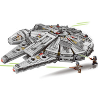 1381Pcs Millennium Falcon Force Awakening Star Wars 7 Building Blocks Toys For Children Star Wars Toys With legoingly 79211