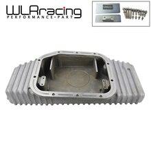 WLR-Высокая емкость литой алюминиевый с толку масляный поддон обновление для 89-02 Nissan SR20 SR20DET S13 S14 S15 Silvia 240SX 180SX