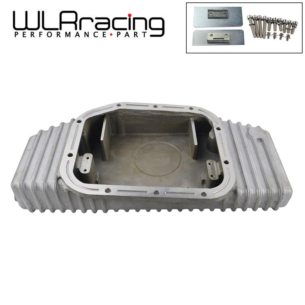 WLR RACING-pour S13 S14 S15 SR20DET SR20 180SX 200SX 240SX SILVIA SIL 80 TURBO carter d'huile en aluminium (convient pour Nissan) WLR-OP49