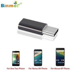 Binmer 2x Micro USB to USB 3.1 Type-C USB Data Adapter for Oneplus Two 2 Mar10 MotherLander