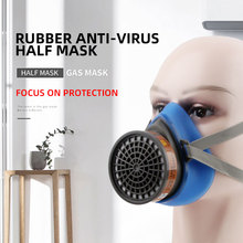 Dust Poison Respirator Set Respirator Gas Mask Comprehensive Cover Paint Chemical Pesticide Mask Anti Dust Protective Mask high quality respirator dust mask high capacity activated carbon protective mask painting pesticide chemical gas mask