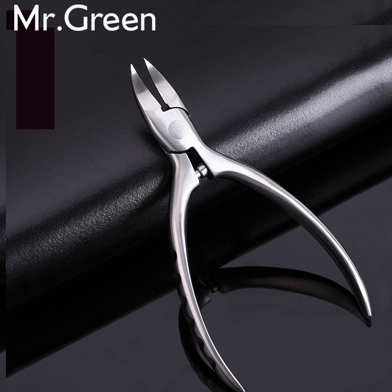 New High Quality Stainless Steel Super-sharp Nail Clipper For Cuticle Pusher Toenails Ingrown Pedicure  Nail Clipper 2017 practical dual ways stainless steel cuticle pusher remover nail art tool