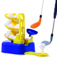 CY00040 Golf Toys Set Golf Ball Training Machine For Children Sports Gaming Learning & Early Educational & Outdoors Exercise Toy