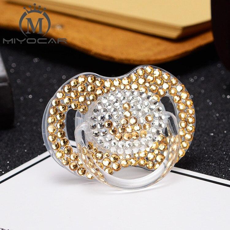 Miyocar artesanal 4 cor brilhante cristal strass