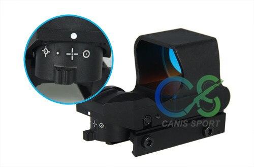 4 reticulo red dot scope para rifle scope caca gs2 0057 05
