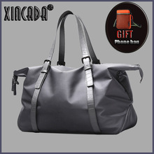 XINCADA Urban CIty Style Technology Travel Bag Male Large Capacity Gray Another Luggage College Summer Holiday Sumka towards another summer