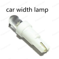 hot sell 10pieces T5 Wedge W2 1LED W5W LED Dashboard Bulbs 100% new brand Car Auto Light