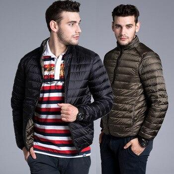 Gänsedaunenjacke | Höchste Qualität 90% Weiße Ente Unten Herren Jacken Und Mäntel 2018 Winter Neue Mode Mantel Männer Mantel Outwear Parka Männer