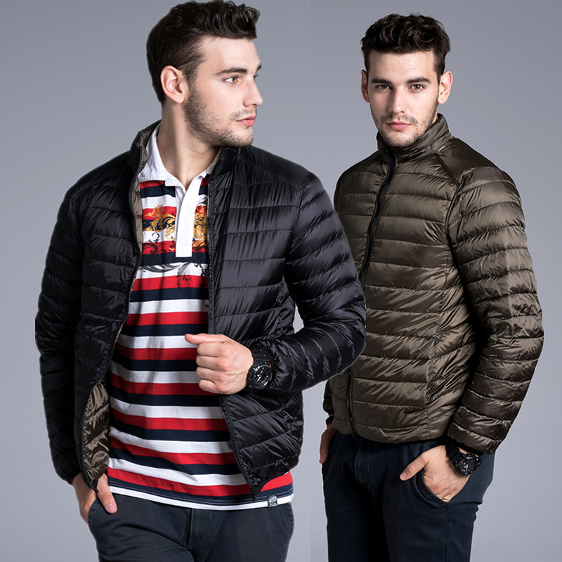 Highest Quality 90% White Duck Down Mens Jackets 2018 Winter New Fashion Coats Men,overcoat,outwear,parka,trench S-3XL
