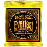 Ernie Ball 2558 Everlast 80/20 Bronze Light Acoustic Guitar Strings 011 052