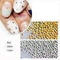 100 Unids Mini Dot 3D Uñas Decoración de Uñas de Manicura Nail Art Deco de Los Rhinestones de Uñas Herramientas #23271