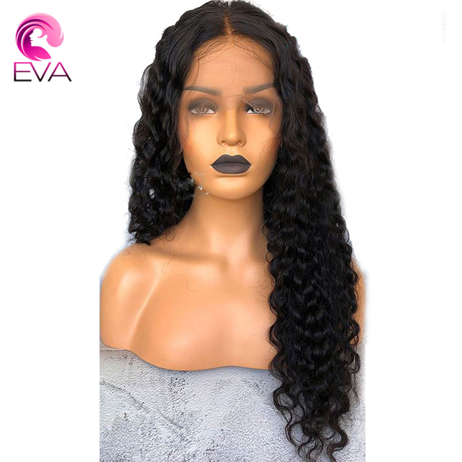 180% Density 360 Lace Frontal Wigs For Women Lace Front Human Hair Wigs Pre Plucked With Baby Hair Brazilian Remy Eva hair Wigs