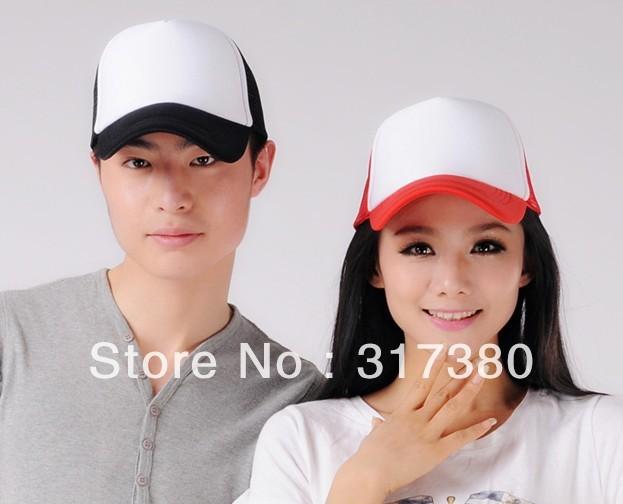 Wholesale Special Mix Colors Mens Trucker Mesh Hats Womens Spring Blank Snapbacks Ball Cap Men Summer Caps Women Autumn Hat 2014