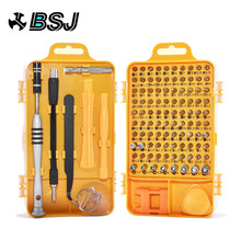 108 in 1 Screwdriver Set Multi-function Computer PC Mobile Phone Cellphone Digital Electronic Device Repair Home Tools Bit(China)