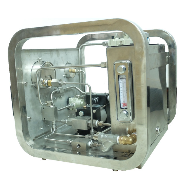 US $1570 0 |Free shipping Wellness Model: US M130 600 1000 Bar Portable  High pressure air hydrostatic test pump unit for hose or valve-in Pneumatic