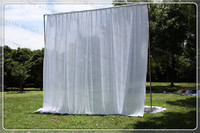 3X3M Wedding Backdrop Curtain Wedding Drapes Stage Backdrop For Wedding Event Party Banquet Decoration Lycra Chair