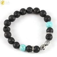 CSJA-Fashion-Black-Lava-Stone-Turquoise-