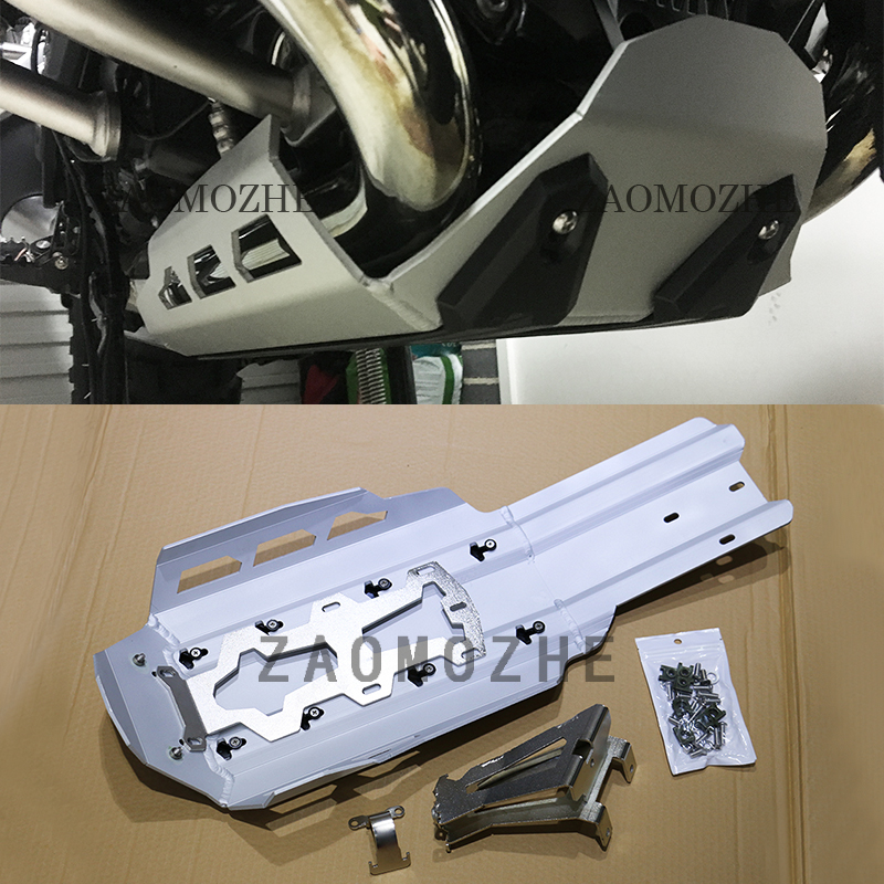 Silver Motorcycle For BMW R1200GS LC 2013 2016 Engine Guard Extension Cover Protection For BMW R1200GS