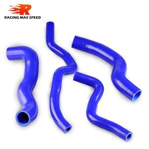 Image 2 - Air intake turbo intercooler radiator silicone hose TIDA KIT 4PCS