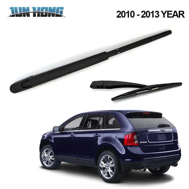 Junhong Rear Wiper Blade And Arm For Ford Edge   Windscreen Rubber Car