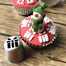 VOGVIGO 4 PCS/ LOT Pastry Accessories Icing Piping Nozzles Stainless Steel Deco Cake Decoration Accessory Christmas tool