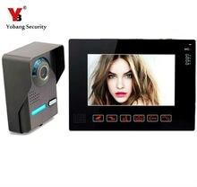 Yobang Security- 9″ Door Monitor 700TVL Color Video Doorphone Intercom System Touch Key Access Control Doorbell Video Intercom