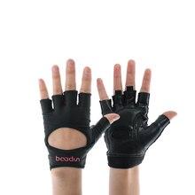 Противоскользящие полпальца спортивные перчатки для спортзала для тренировки, бодибилдинга перчатки для запястья мужские и женские гантели Фитнес упражнения Тяжелая атлетика