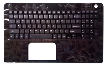 New for Toshiba Satellite L50-B-1DZ L50-B-137 L50-B-14C L50-B-1UR L50-B-1UU palmrest US keyboard black no touchpad with c cover