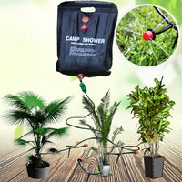 Water bag watering drip irrigation bag 10M hose watering kit kit Plant watering system with bag camp shower solar shower bag