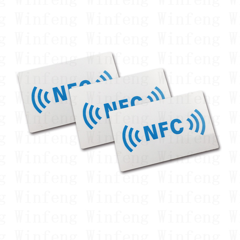 2000pcs/lot Customized Printing ISO14443A 13.56MHz RFID NFC NTAG215 Tag Passive NFC RFID Tag for Touch and Pay 1000pcs long range rfid plastic seal tag alien h3 used for waste bin management and gas jar management