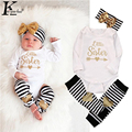 Newborn Clothing Infant Baptism Suit 2017 New Baby Girl Clothes Boys Sets Kids Three-piece Girls Cotton Costume Baby Boy Clothes