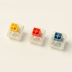 Image 5 - Wholesales Kailh Box Royal Navy Blue Jade Pink Crystal Box 3 pin Switches IP56 Water proof Compatible Cherry MX Switches