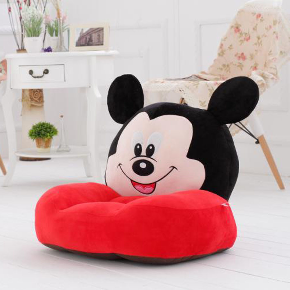 Infantile Baby Sofa Baby Support Seat Kids Cartoon Cute Children Chair Neat Puff Skin Animal Lazy Backrest Plushseats Cushion in Children Sofas from Furniture