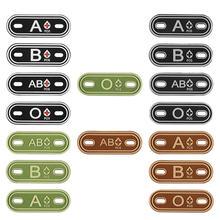 2 шт Охотничьи аксессуары 3d ПВХ a + b ab o положительная группа