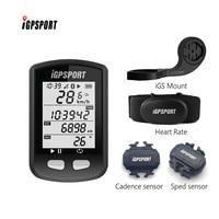 iGS10 GPS Enabled Bike bicycle computer iGPSPORT speedometer (Support Cadence & Speed sensor & heart rate)