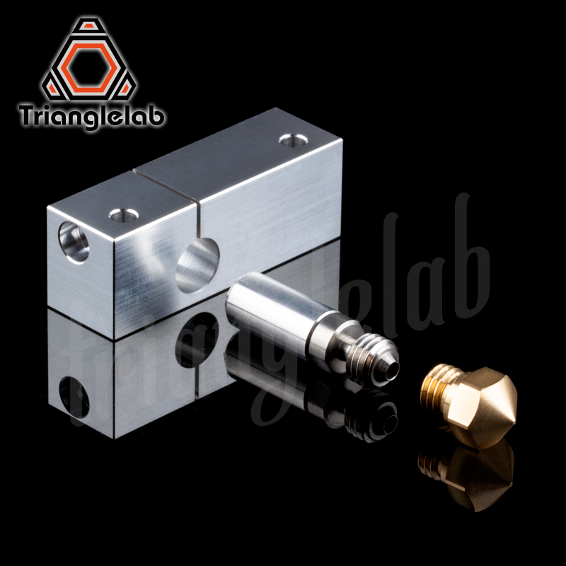 Micro Swiss MK10 All Metal Hotend Kit .0.2 mm/0.4mm/0.6mm/0.8mm Nozzle for WANHAO