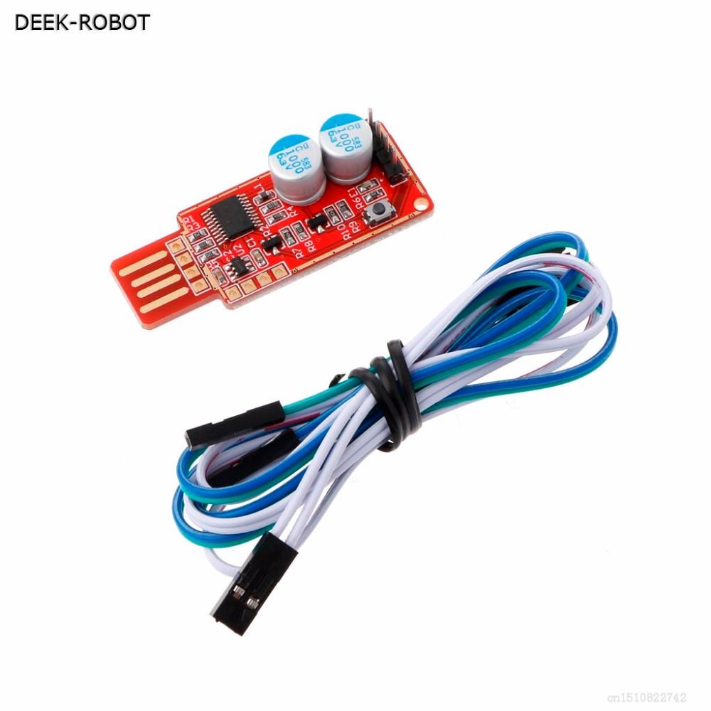 DEEK-ROBOT New USB Watchdog Computer Automatic Restart Blue Screen Mining Game Server LTC BTC Miner