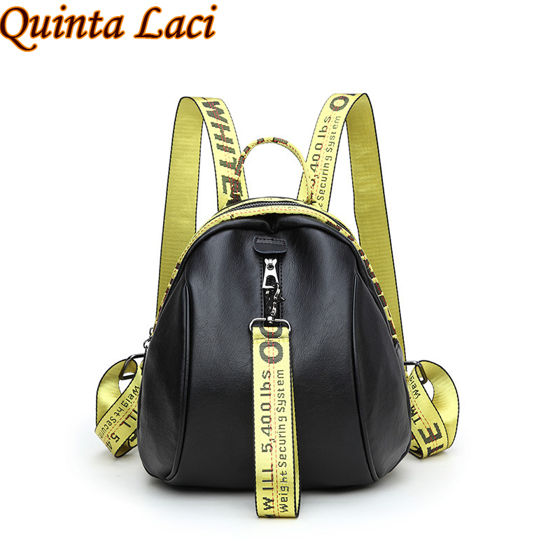 Quinta Laci Women Backpack 2017 New Female Leisure Bags Air Personality Color Star with A Stylish