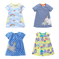 Brand Quality 100% Cotton 2017 New Baby Girls Dresses Summer Children Clothing Kids Clothes Girls Casual Dress Baby Girl Clothes