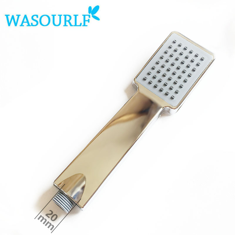 WASOURLF oxygenics water saving chrome plated abs plastic shower ...