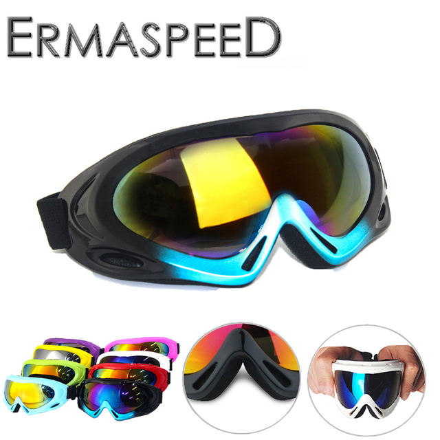 cc8456d64ee2d Motorcycle Goggles Windproof Dustproof Motocross Pilot Aviator Enduro Off  Road Hiking Cycling Dirt Bike Racing Eye Wear Glasses