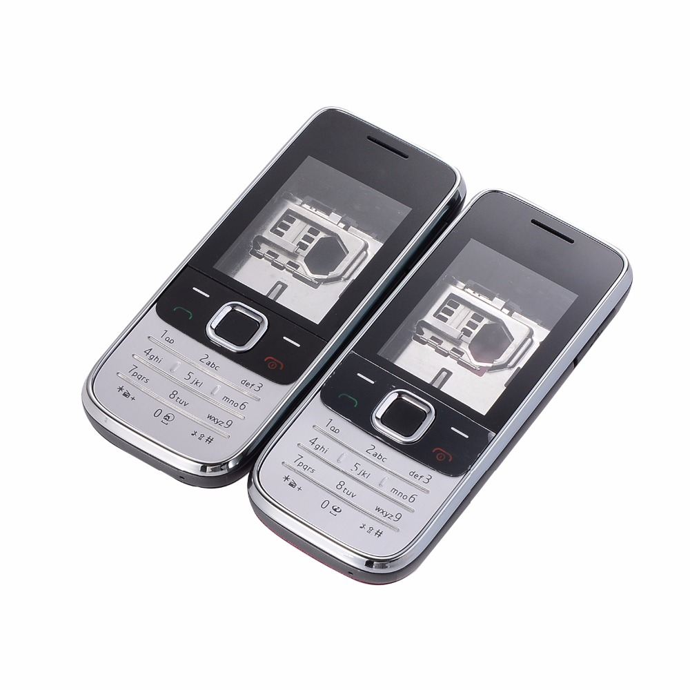 Full Housing For <font><b>Nokia</b></font> 2730C <font><b>2730</b></font> Front Faceplate Frame Cover Case+Back cover/battery door cover+Keypad image
