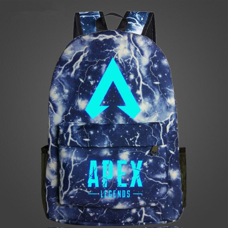 mochilas luminosas para escola de viagem
